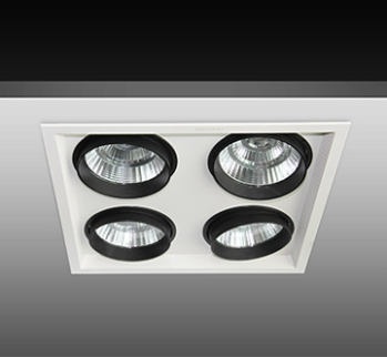 four heads led grill light