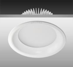 Anti-glare SMD downlight