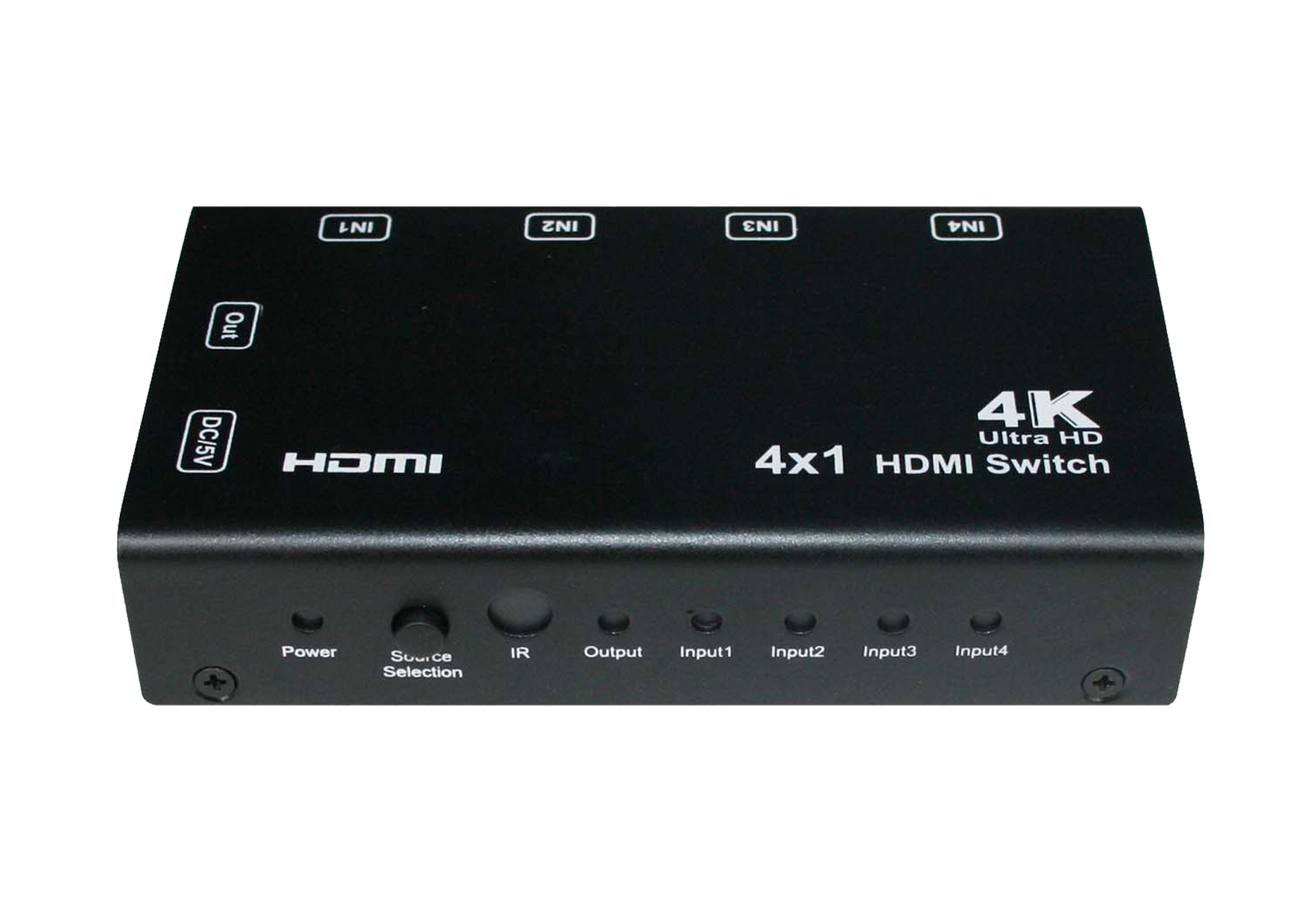 4x1 HDMI Switch With PIP ,4K, Remote Control