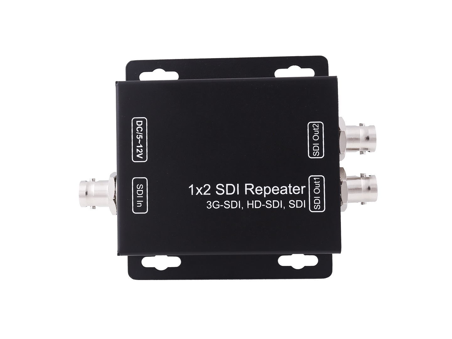 1x2 3G SDI Splitter & Repeater
