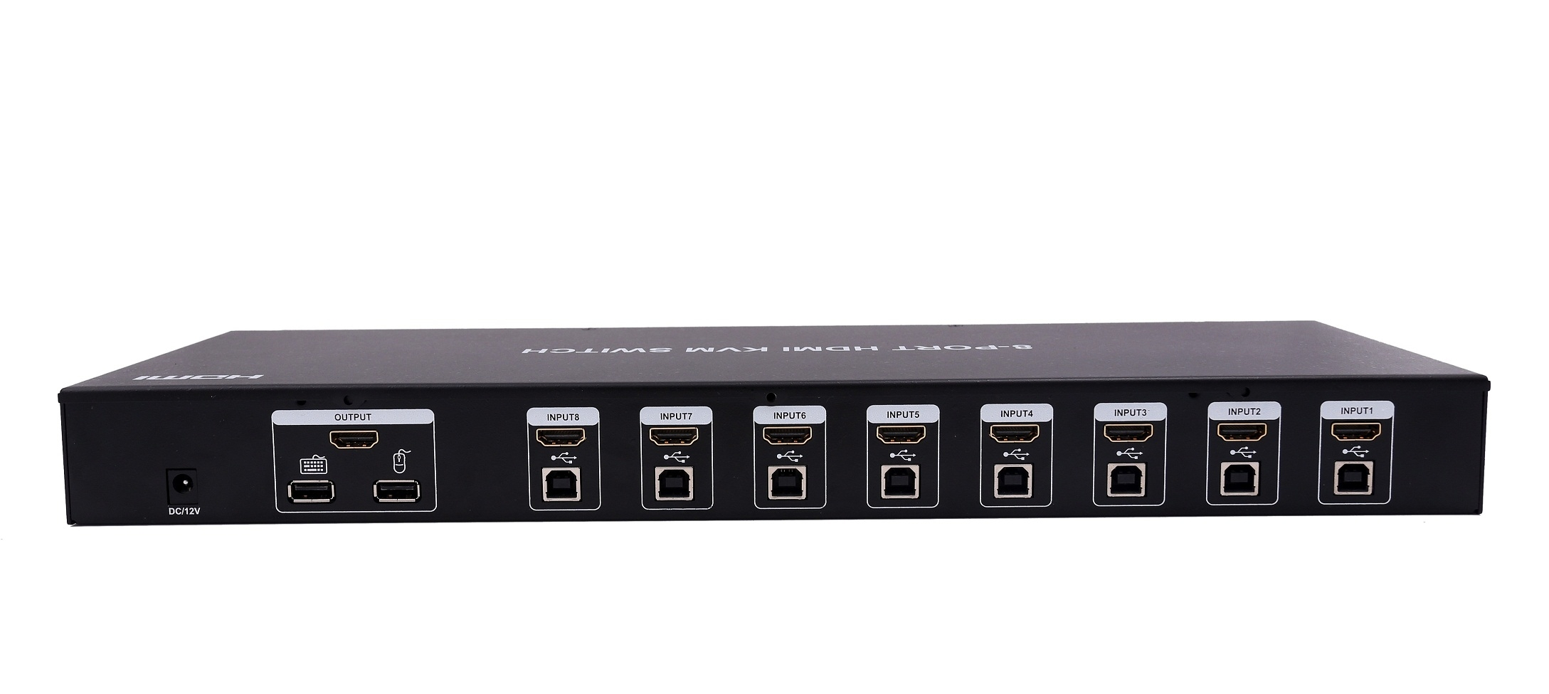 8 port HDMI+USB KVM Switch