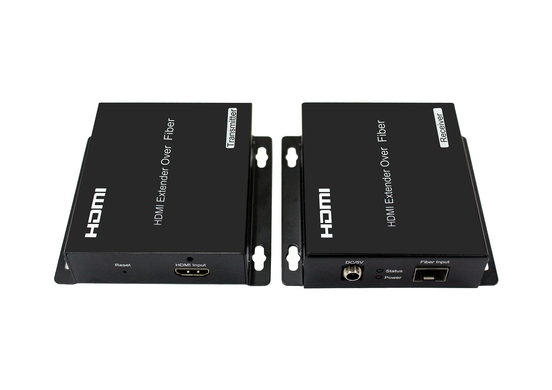 60KM Ultra HD 4K HDMI Extender Over Fiber