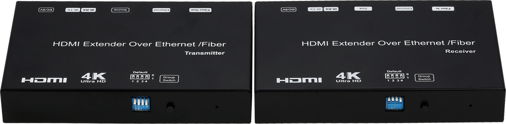 60KM Ultra HD 4K HDMI Extender over Fiber / IP