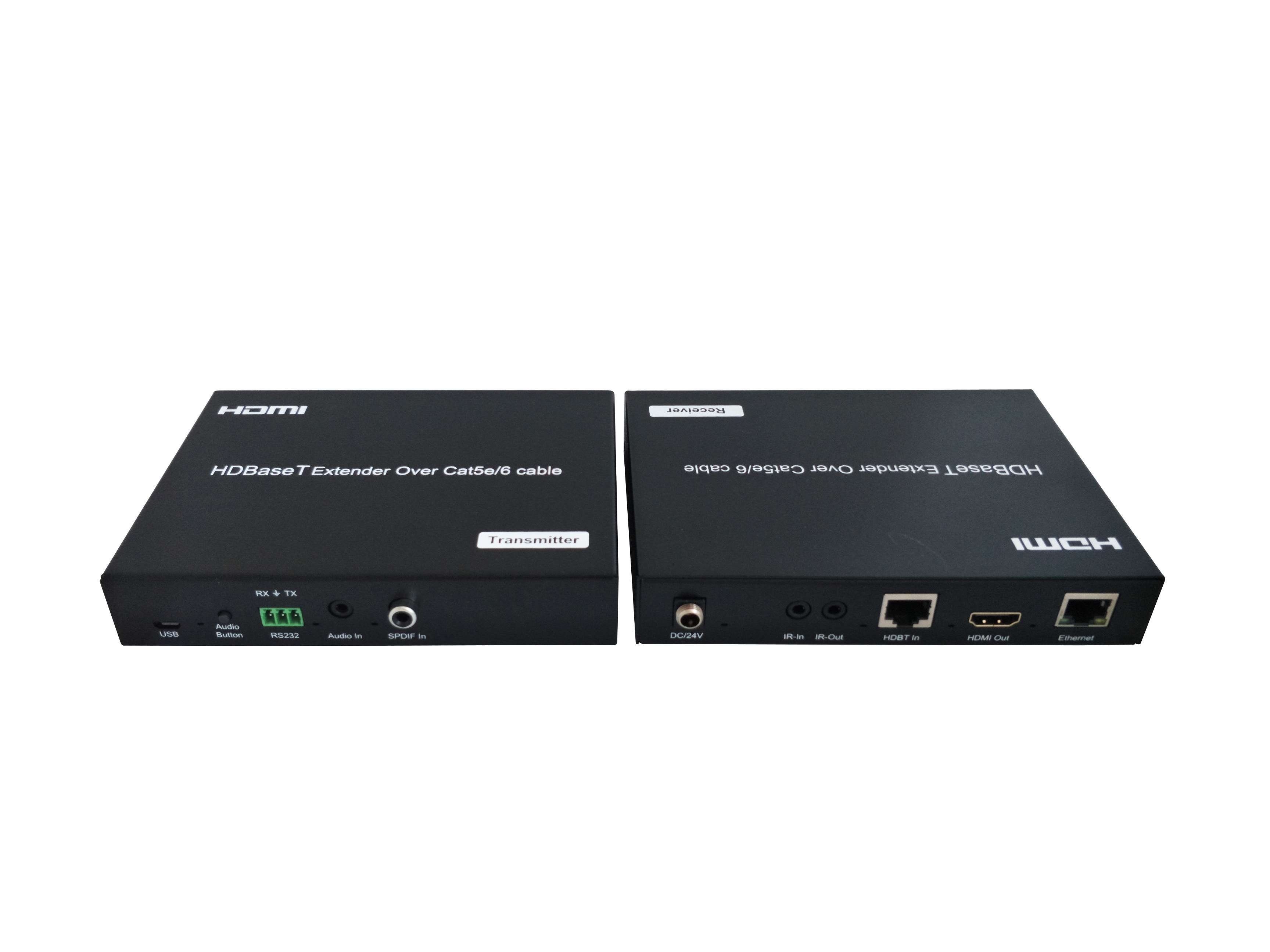 100M HDBaseT Extender  With Audio Embedded, Audio Extraction,  POC, Ethernet