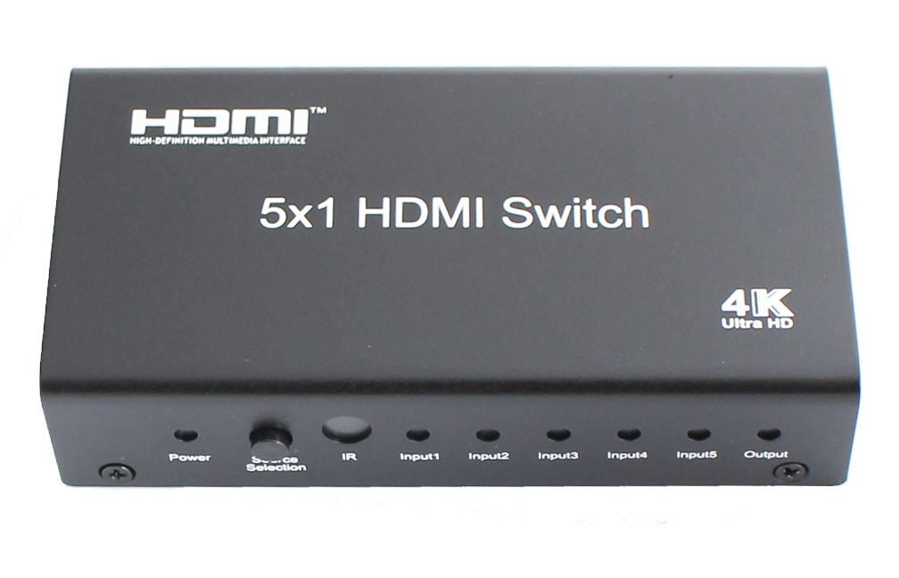 5x1 HDMI Switch with remote control