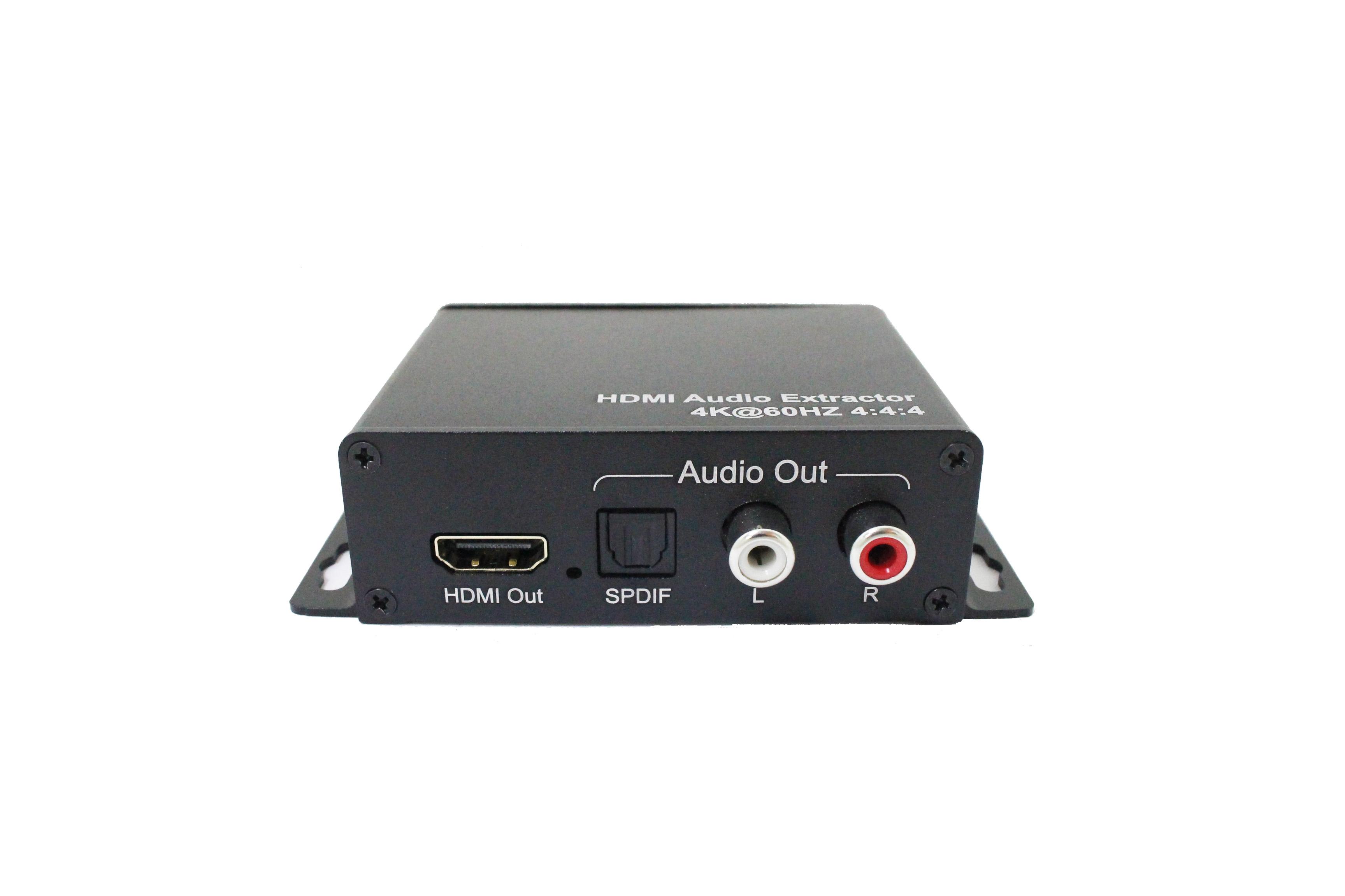 HDMI 2.0 Audio Extractor, 4K@60HZ YUV4:4:4