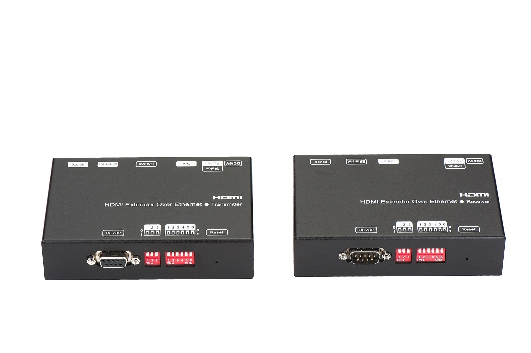 H.264 encoder 120M HDMI over IP extender suppors RS232