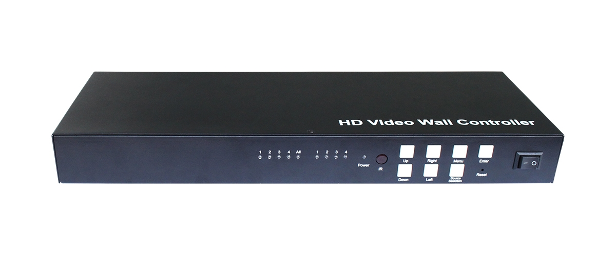 1x4 Mixed Input Splitter, HD Video Wall Controller_