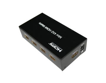 4x2 HDMI Matrix with remote control
