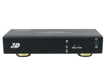 1x4 HDMI Splitter over single Cat5e/6 cable
