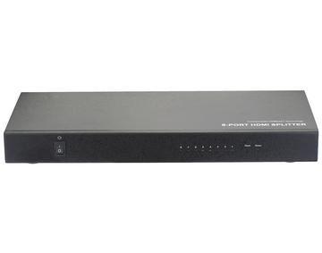 70m 1 x8 HDBaseT Splitter, RS232, Bi-Direction IR, CEC, 4Kx2K