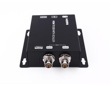 HDMI to SDI Converter upscaler (720p/1080p), with 2 SDI outputs