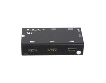 1x4 HDMI Splitter, HDCP, 4Kx2K@60Hz (3840x2160 @60Hz YUV 4:2:0)