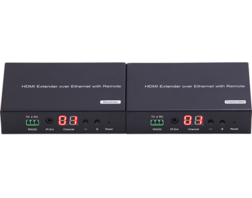 H.264 HDMI over IP Extender, with LED, Remote, RS232