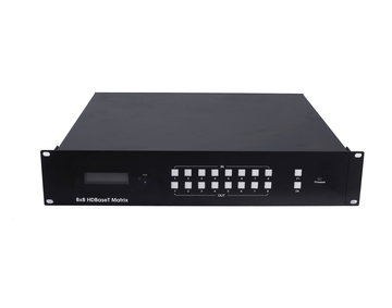 70m 8x8 HDBaseT Matrix, Support POC, IP Control, RS232 Control