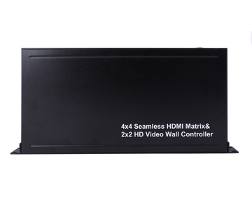4X4 Seamless HDMI Matrix & 2x2 Video Wall Controller
