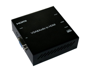 VGA+Audio to HDMI Converter upscaler (720p/1080p)