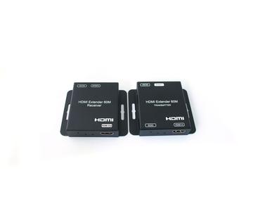 60m HDMI Extender over Single Cat5e/6, support 1080P60hz YUV4:4:4&POC