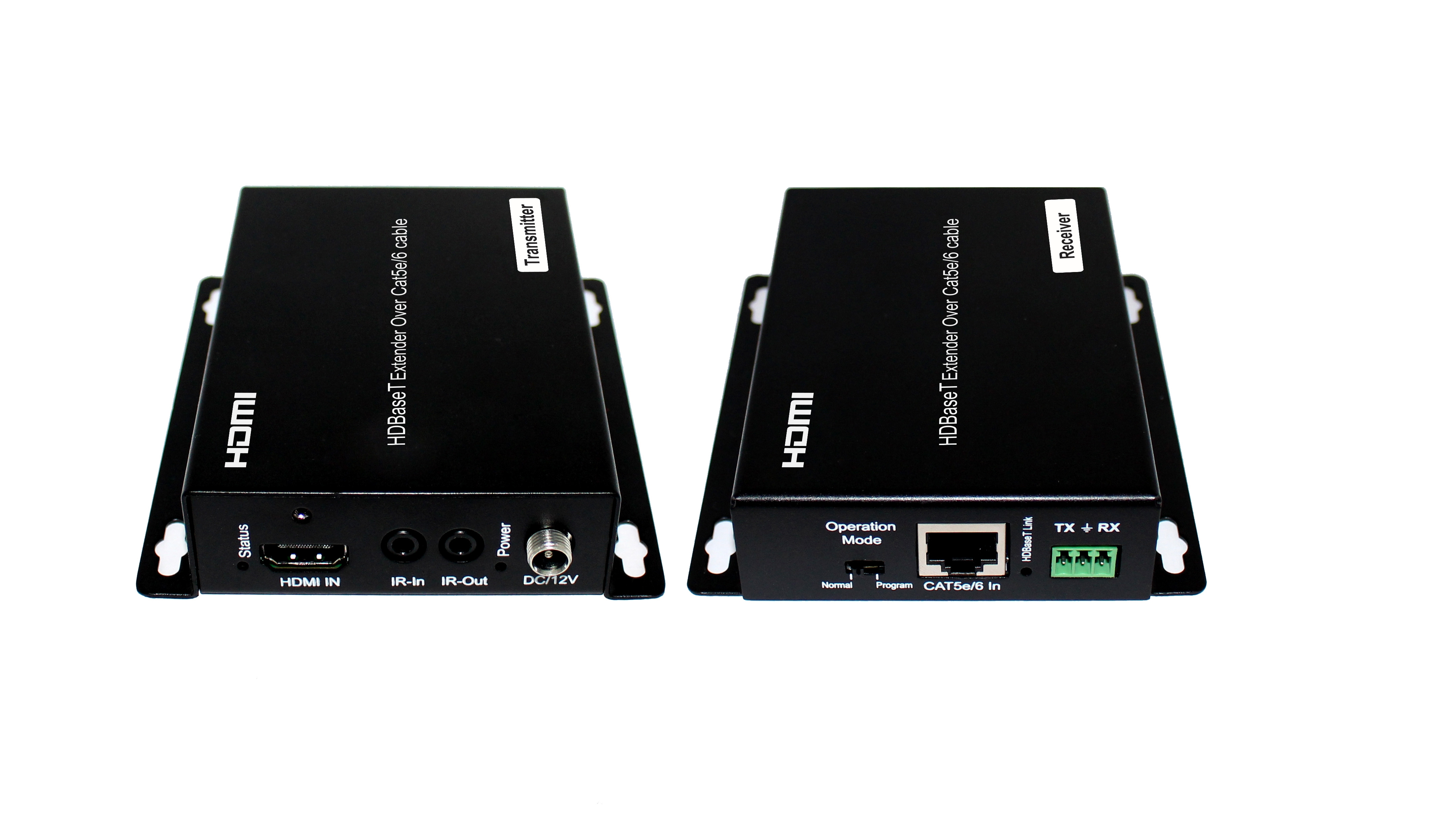 70m HDBaseT Extender with HDCP2.2, POC, 4K, CEC, RS232, Bi-directional IR