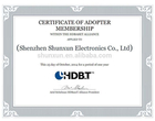 Adopter of the HDBaseT Aliance