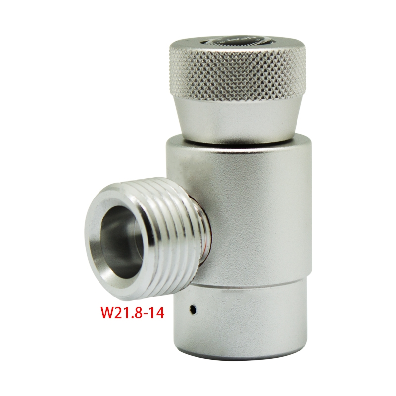 CO2 Cylinder Refill Adapter Connector Gas Regulator DIN 477 /W21.8-14/W22.8-14