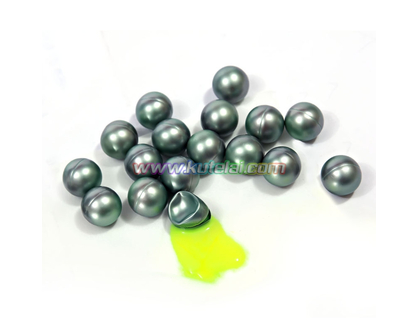 Metal Color 0.68 inch paintball made with gelatin&PEG