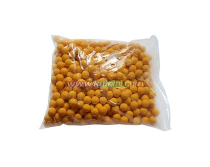 Green 0.68 Caliber Reusable Natural Solid Rubber Ball