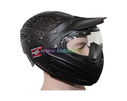全盔防护双层防雾面罩