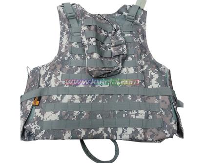 Digital Camo Tactical Airsoft Vest Paintball Bulletproof Vest Lightweight