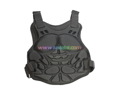 Black Military Combat Paintball Chest Protector Airsoft Vest