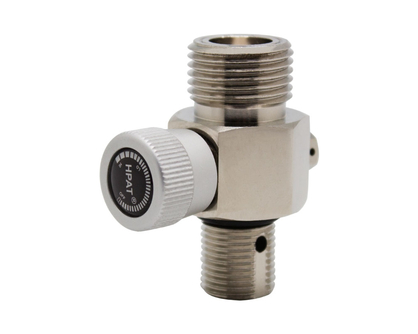 G5/8-UNF paintball on/off valve for CO2 cylinder