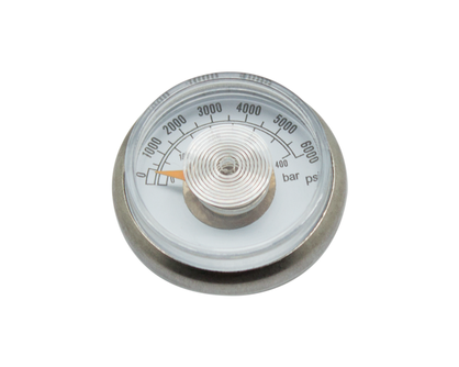 New Pressure Gauge(400bar/6000psi、1/8NPT)