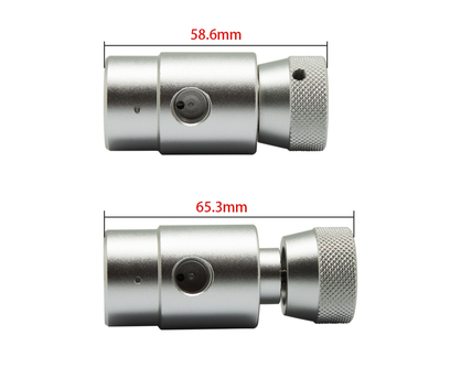 New Model CO2 ASA Adapter On/Off with 3000psi Gauge