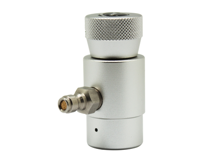 CO2 Cylinder Refill Adapter Connector Gas Regulator with Gauge and 8mm Fitting