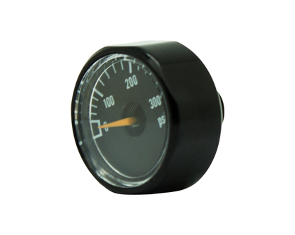 300psi黑色压力表