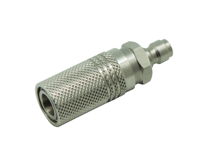 Extended Quick Coupler Socket Quick Disconnect With 8mm Male Plug