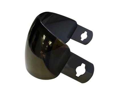 Gold Mirror Single Lens for Anti Fog Mask