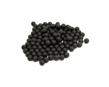 黑色塑料球